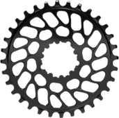 Drev AbsoluteBlack Round SRAM BB30 direct mount 9-12 växlar 34T svart